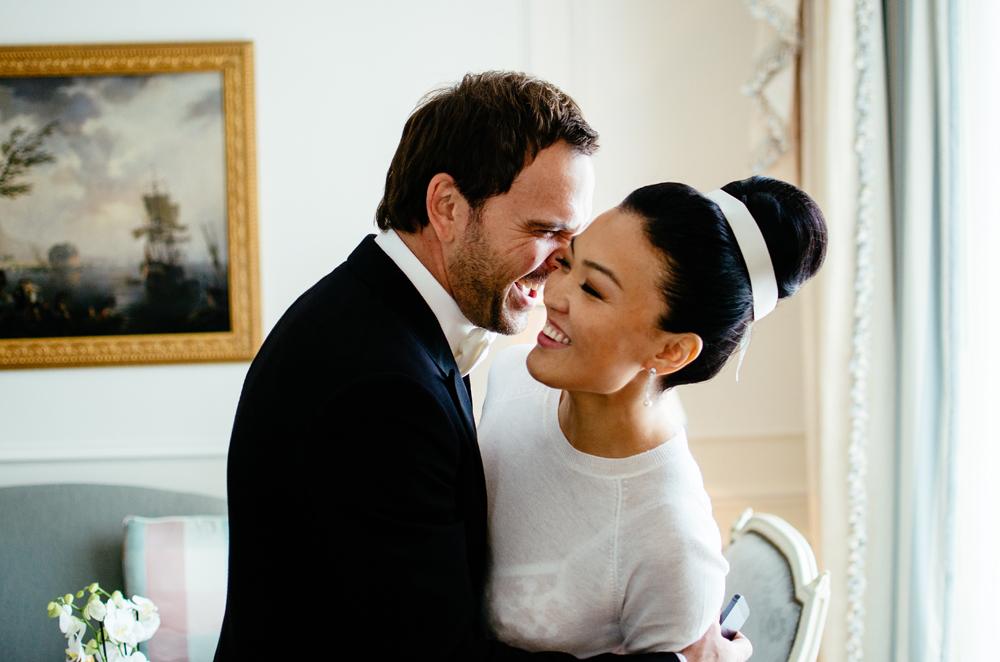 Eine Hochzeit in Paris