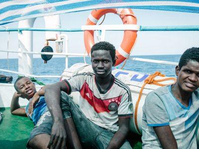 Auf dem Rettungsschiff Iuventa