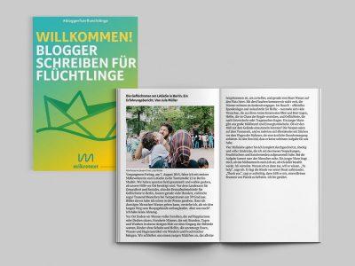 Willkommen! Blogger schreiben für Füchtlinge